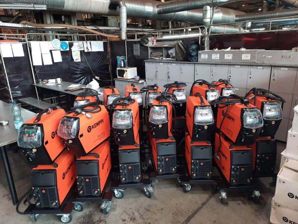 полностью обновленный парк сварочных аппаратов Fast Mig M420 от Kemppi